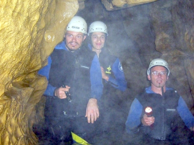 Expedition Höhle